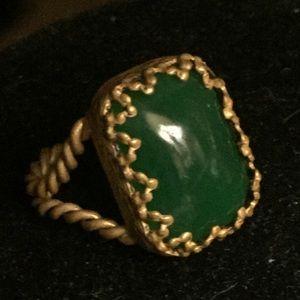 Vintage Antique Jade Adjustable Ring